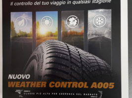 "NUOVO PRODOTTO 4 SEASONS BRIDGESTONE ""WEATHER CONTROL A005"""
